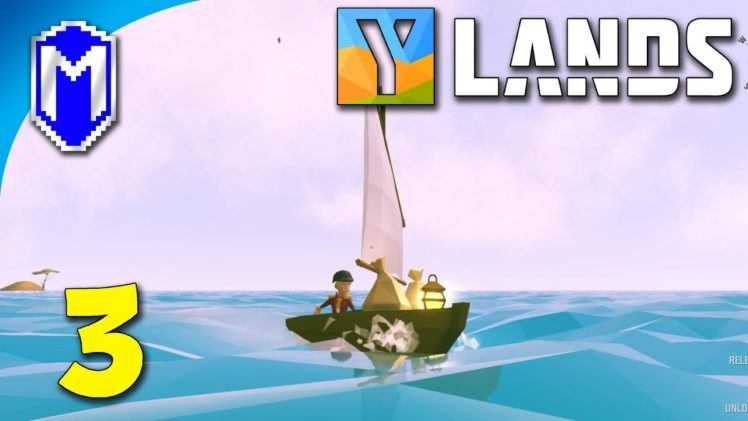 Ylands – Set Sail, Exploring Other Islands On Our Tiny Boat – Let's Play Ylands Gameplay Ep 3