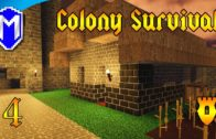 Colony Survival – Building The Bakery, Making Bread – Let's Play Colony Survival Gameplay Ep 4