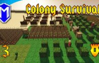 Colony Survival – Running Out Of Bronze, Town Massacre – Let's Play Colony Survival Gameplay Ep 3