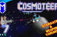 Cosmoteer – Swarm Missile Spam – Let's Play Akinata's Weapon Variants & Stargate Mod Gameplay Ep 7