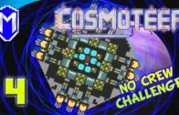 Cosmoteer – The Shield And The Melee Ship – Lets Play Cosmoteer Mod No Crew Challenge Gameplay Ep 4