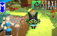 Staxel – Character Creation And Learning How To Play, Tutorial – Let's Play Staxel Gameplay Ep 1