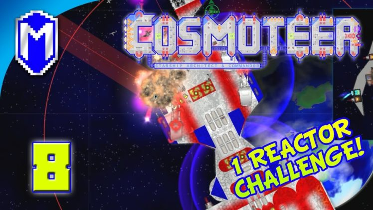 Cosmoteer – Calling In Reinforcements – Lets Play Cosmoteer Mod 1 Reactor Challenge Gameplay Ep 8