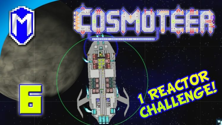 Cosmoteer – Light Plasma Missile Frigate – Lets Play Cosmoteer Mod 1 Reactor Challenge Gameplay Ep 6