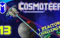 Cosmoteer – Very Slow Projectiles – Lets Play Cosmoteer Mod 1 Reactor Challenge Gameplay Ep 13