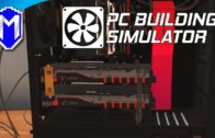 Installing 2 GPUs, Setting Up SLI – Let's Play PC Building Simulator Gameplay Ep 6