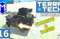 TerraTech – Building Some Mining Bases And Turrets – Lets Play TerraTech Unstable Gameplay Ep 16