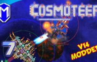 Big Flamethrowers And Overcharged Weapons – Let's Play Cosmoteer v14 Mods Gameplay Ep 7