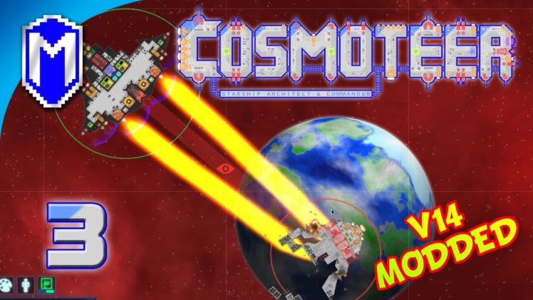 Napalm And Space Flamethrowers, Starting Fires – Let's Play Cosmoteer v14 Mods Gameplay Ep 3