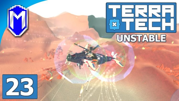 TerraTech – Building An Attack Helicopter And Plane – Lets Play TerraTech Unstable Gameplay Ep 23