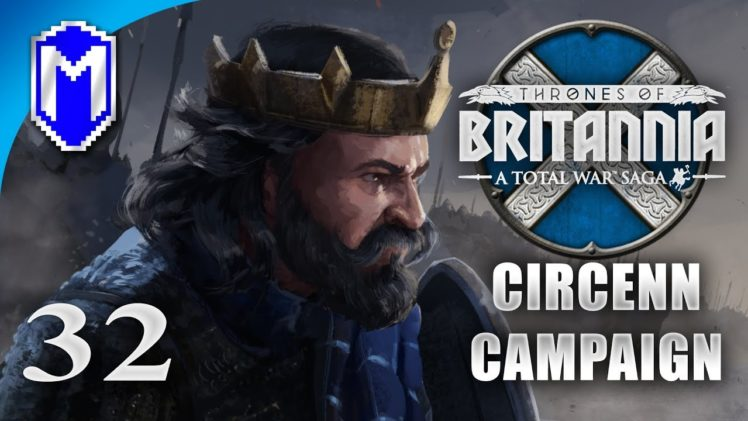 Waiting For The Charge – Circenn – Let's Play Total War Saga Thrones of Britannia Gameplay Ep 32