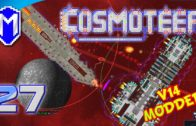 Battling Battleships, Destroying The Iowa – Let's Play Cosmoteer v14 Mods Gameplay Ep 27