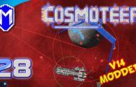 Fighting The Armada With ABH Weapons – Let's Play Cosmoteer v14 Mods Gameplay Ep 28