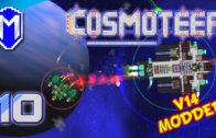 Sniper Beams And Rapid Firing Repeater Cannons – Let's Play Cosmoteer v14 Mods Gameplay Ep 10