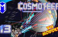 The Bane To The Missile Swarm Ship – Let's Play Cosmoteer v14 Mods Gameplay Ep 13