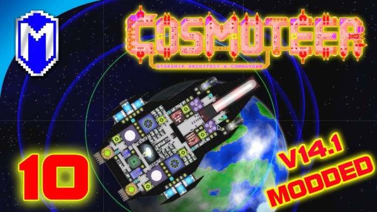 Ballistic Missiles, Nukes And Mines – Let's Play Cosmoteer v14.1 Mods Gameplay Ep 10