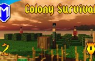 Colony Survival – Getting Wheat Seeds Through Research – Let's Play Colony Survival Gameplay Ep 2