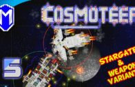 Cosmoteer – Overcharged Missiles – Let's Play Akinata's Weapon Variants & Stargate Mod Gameplay Ep 5