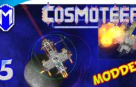 Cosmoteer – Trying Out Some Massive Weapons, Railguns – Let's Play Cosmoteer Abh Mod Gameplay Ep 5
