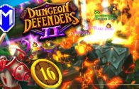 Everything Is On Fire, Lavamancer One Hero Challenge – Let's Play Dungeon Defenders 2 Gameplay Ep 16