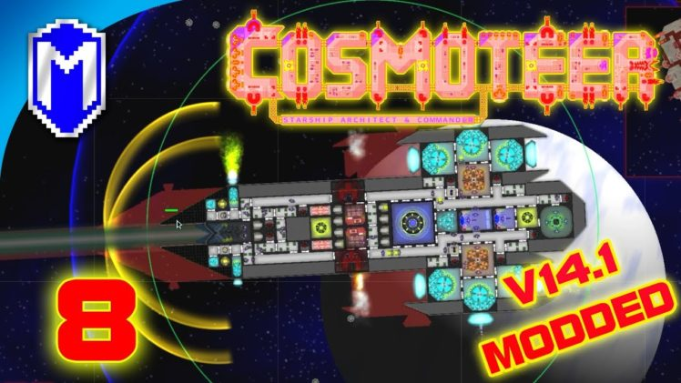 Impulse Laser Destroyer And Mines, Saving Money – Let's Play Cosmoteer v14.1 Mods Gameplay Ep 8