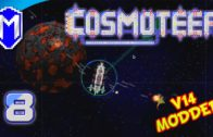 It's Party Time!  Broadside Fireworks Ship – Let's Play Cosmoteer v14 Mods Gameplay Ep 8