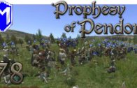 M&B – Taking A Town And Losing It – Mount & Blade Warband Prophesy of Pendor 3.8 Gameplay Part 78