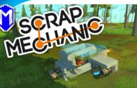 Scrap Mechanic – Testing Out Flight, Learning How To Fly – Let's Play Scrap Mechanic Gameplay Part 3