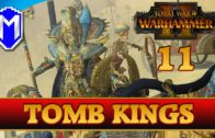 STARTING A NEW WAR WITH THE VAMPIRES – Let's Play Total War Warhammer 2 Tomb Kings Gameplay Ep 11