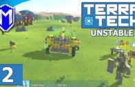 TerraTech – How To Build A Base, Crafty Mike Tutorials – Lets Play TerraTech Unstable Gameplay Ep 2