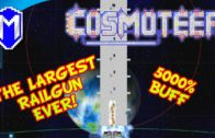 The Biggest Railgun, Largest Railgun Ship That Can Cut Capital Ships In Half – Cosmoteer v14.1