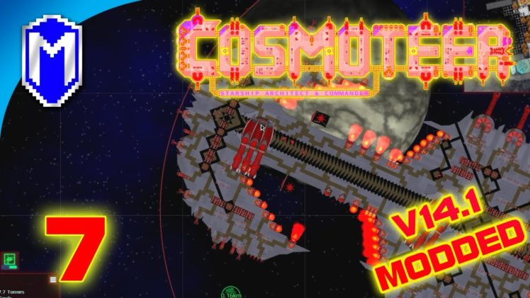 Well That Shouldn't Be There, Primal Hunters – Let's Play Cosmoteer v14.1 Mods Gameplay Ep 7