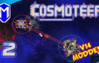 YAY! More Missiles! Using The MLRS Cerberus – Let's Play Cosmoteer v14 Mods Gameplay Ep 2