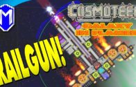 A More Powerful Railgun, Railgun Ship – Let's Play Cosmoteer Galaxy In Flames Modded Gameplay Ep 2