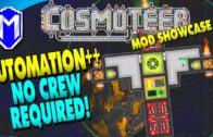 Automation++, No Crew Required – Cosmoteer Mod Showcase, Gameplay And How To Guide