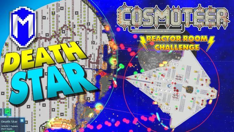 Battling Massive Star Wars Ships – Let's Play Cosmoteer Reactor Room Challenge Modded Gameplay Ep 11