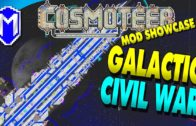 Galactic Civil War – Cosmoteer Mod Showcase, Gameplay And How To Guide