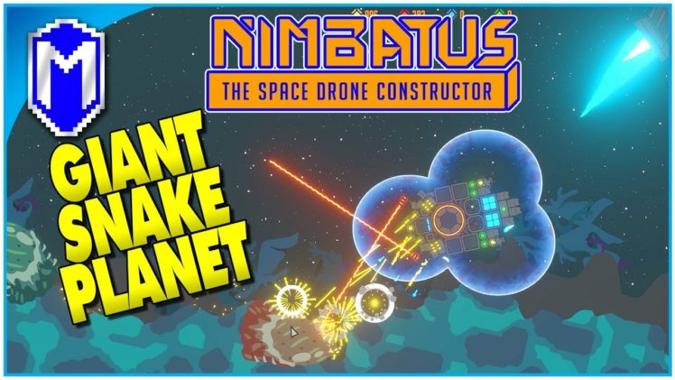 It Can Leave The Planet! Building Our First Drone – Let's Play Nimbatus Closed Alpha Gameplay Ep 1