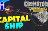New Capital Ship, Vanguard Sector – Let's Play Cosmoteer Reactor Room Challenge Modded Gameplay Ep 8