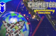 Railgun And Multishot Cannons – Let's Play Cosmoteer Reactor Room Challenge Modded Gameplay Ep 3