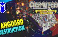 Vanguard Destruction, 1500 Crew – Let's Play Cosmoteer Reactor Room Challenge Modded Gameplay Ep 10