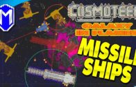 Battling The Missile Carrier 3X – Let's Play Cosmoteer Galaxy In Flames Modded Gameplay Ep 11
