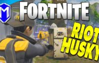 Defeating The Riot Husky – Let's Play Fortnite: Save The World PC Gameplay Ep 14