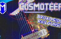 Even More Railguns For The Broadsider! Broadside Railguns – Let's Play Cosmoteer 14.3 Gameplay Ep 9