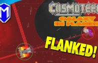 Flanked! Continuing On Our Adventure – Let's Play Cosmoteer Galaxy In Flames Modded Gameplay Ep 4