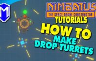 How To Make Drop Turrets Using The Factory – Nimbatus Gameplay Tutorials And How To Guides