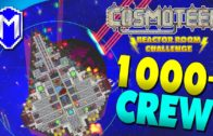 Upgrading The Ship, 1000 Crew – Let's Play Cosmoteer Reactor Room Challenge Modded Gameplay Ep 9