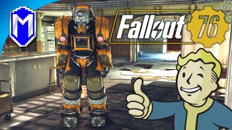 Finishing The Excavator Power Armor And Claiming A Workshop – Let's Play Fallout 76 PC Gameplay Ep 9