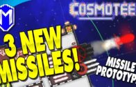 3 New Missiles And The Flak Battery – Let's Play Cosmoteer Missile Prototype Gameplay