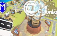 Building The Large Monument – Scenario 5 – Let's Play The Colonists Gameplay Ep 13